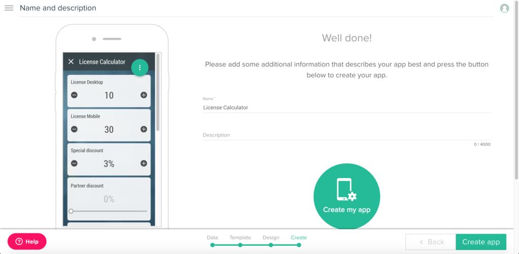 Schritt 5: ErstellenSie Ihre App
