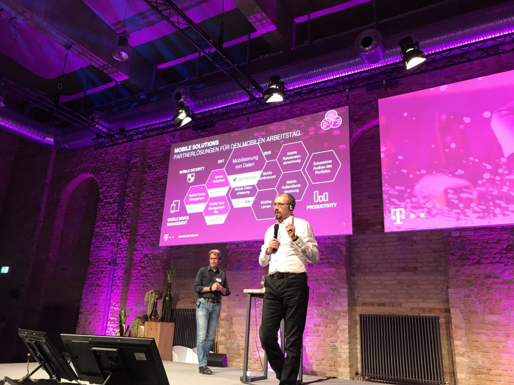 Telekom & Open as App partnership for German market