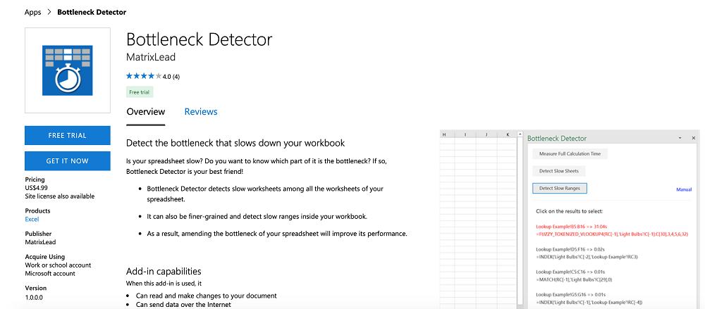 Innovative Tools for Excel Bottleneck Detector