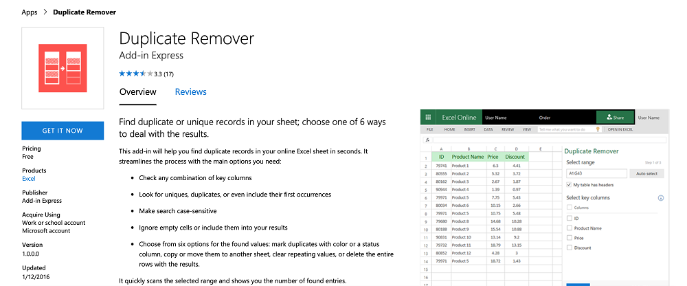 Innovative Tools for Excel Duplicate Remover