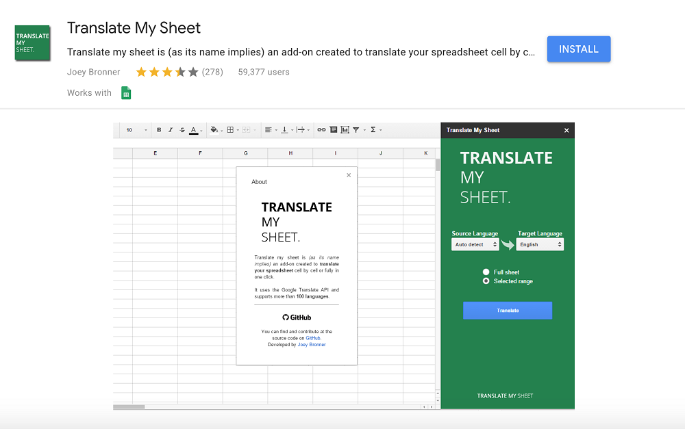 Innovative Tools for Google Sheets Translate My Sheet