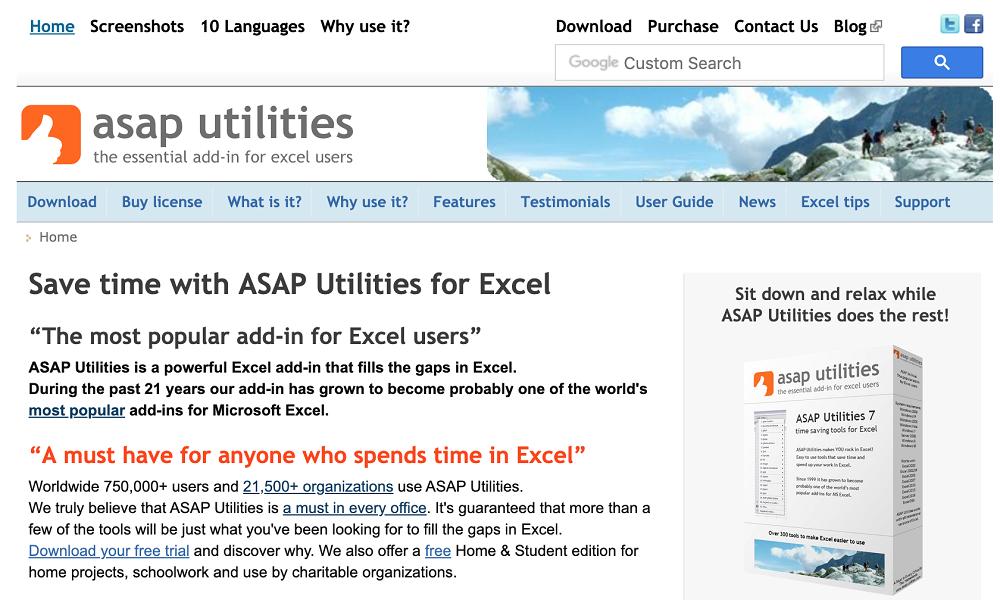 ASAP Utilities