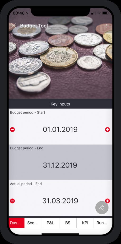 Budgetierungs-App 1