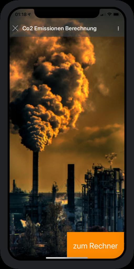 Co2 Emissionen Berechnung App 1
