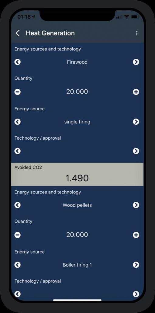 CO2 Emission Calculator App 4
