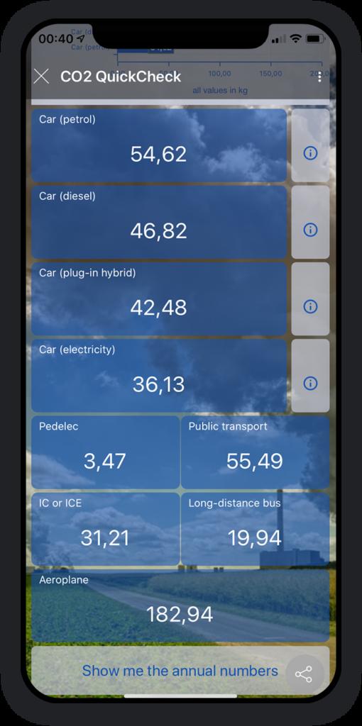 CO2 QuickCheck App 2