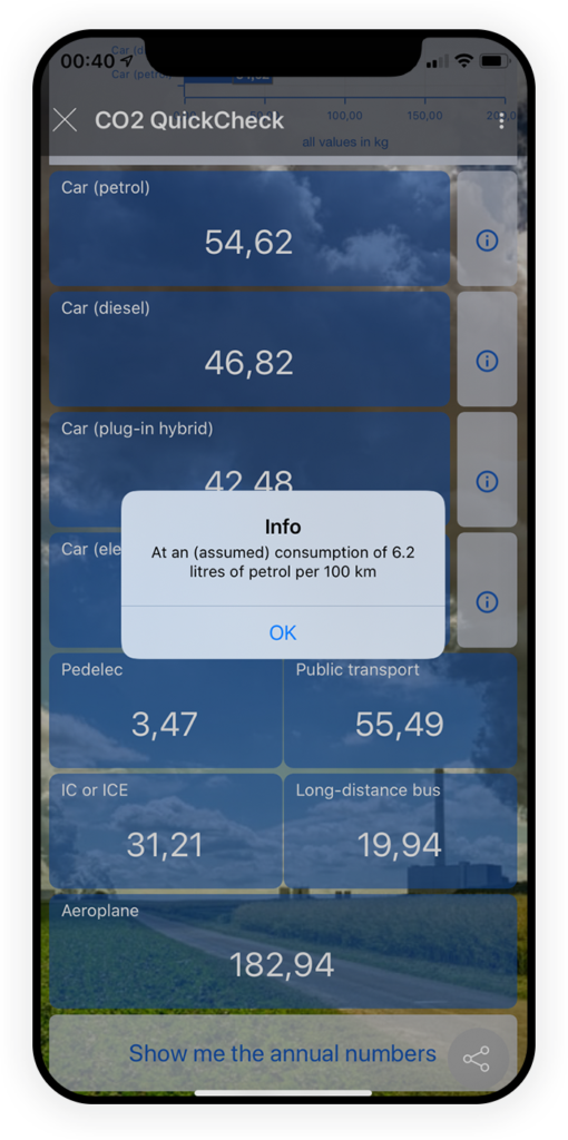 CO2 QuickCheck App 3