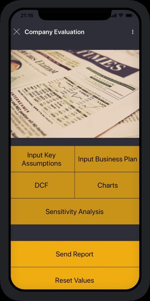 Company Evaluation App 1