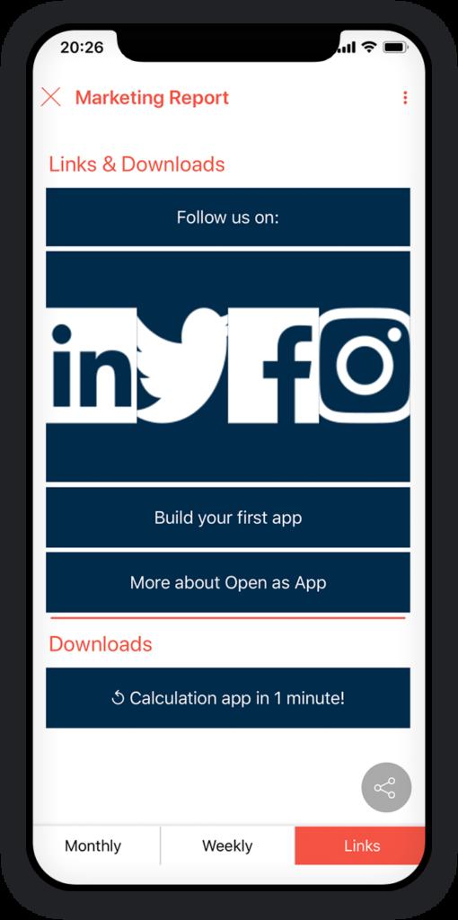 Marketing Reporting App 3