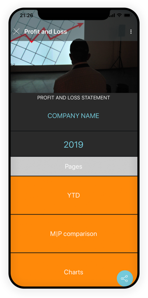 Profit and Loss App 1