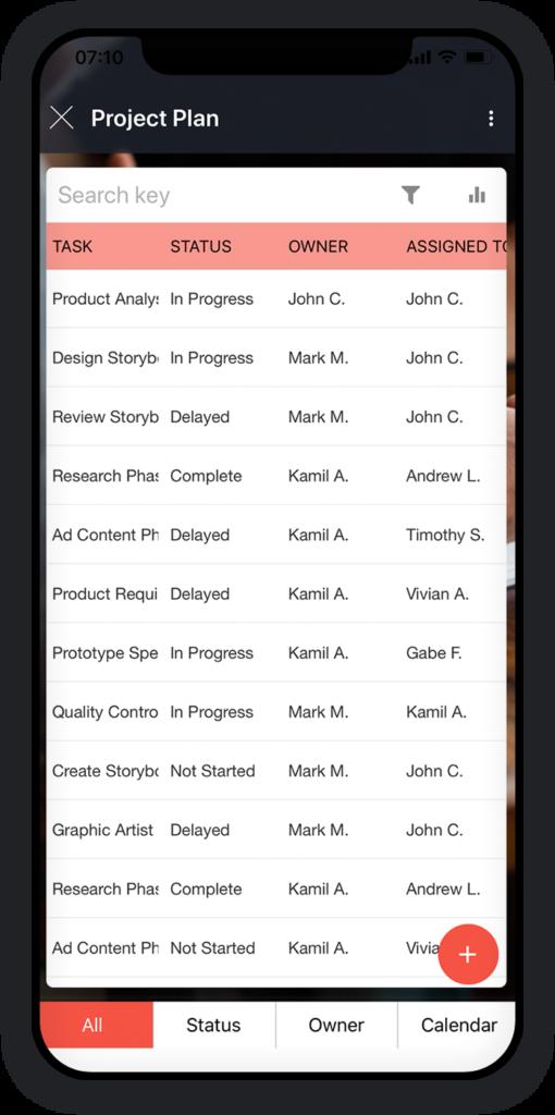 Project Plan App 1
