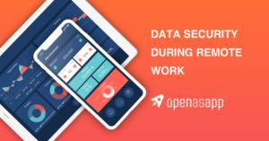 Remote Work Data Security