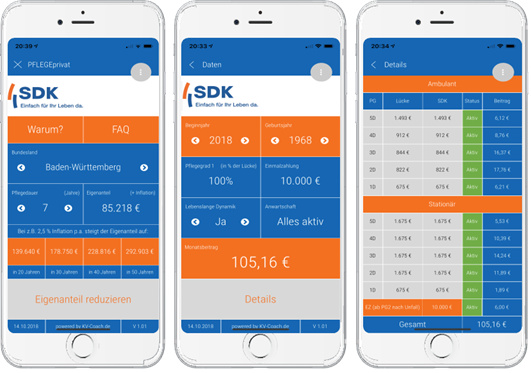 SDK automatic app creation