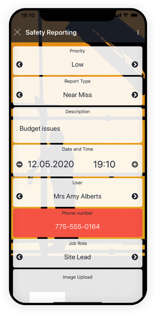 Safety Reporting App 1