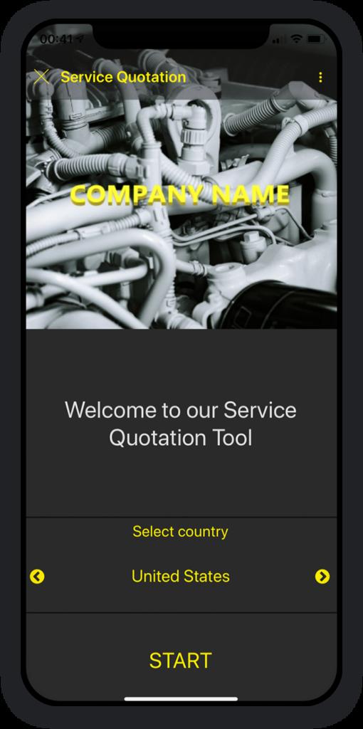 Service Quotation App 1