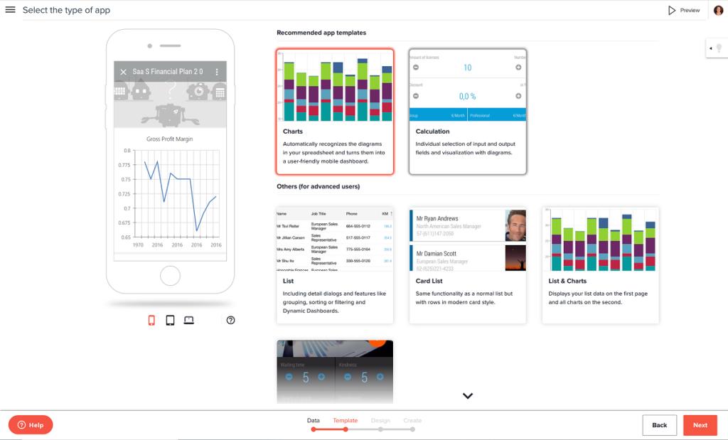financial app type