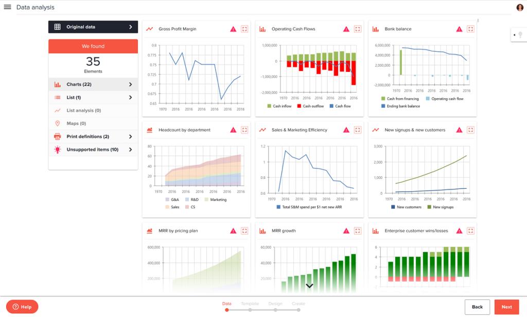 create financial plan app