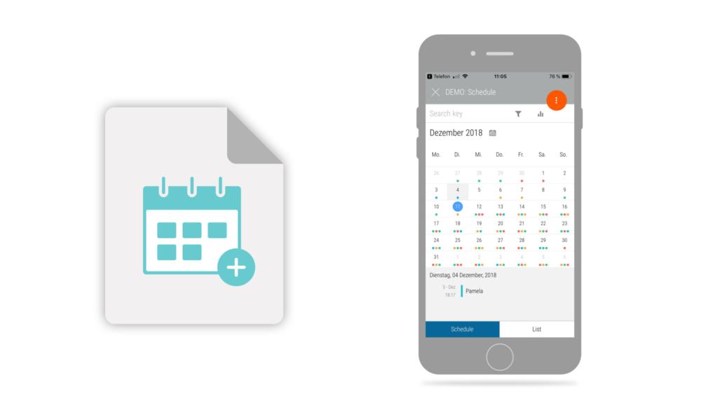 Calendar app type