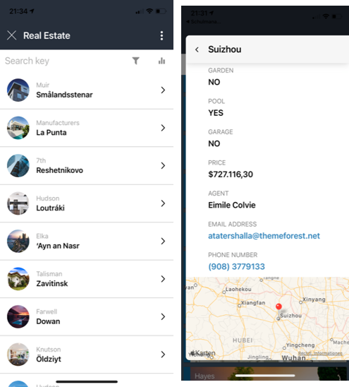 mesure real estate agent performance with an app