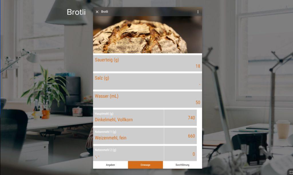 Rezepte zum Brotbacken selbst erstellen