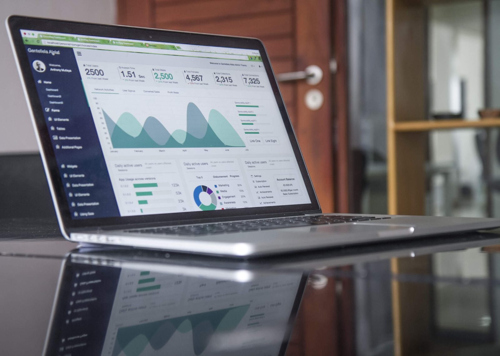 Marketing Report App