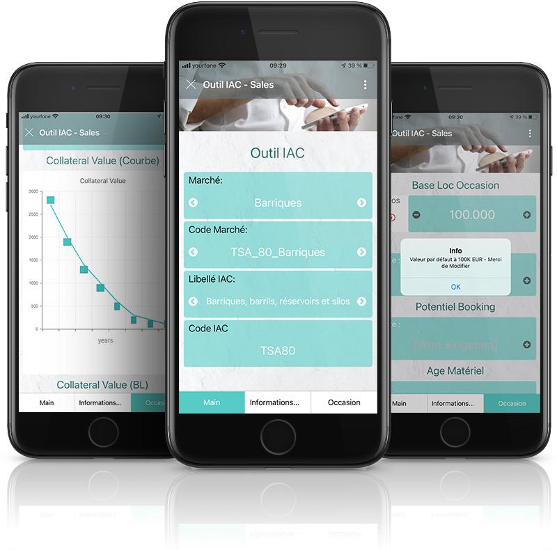 Apps von Siemens aus Excel