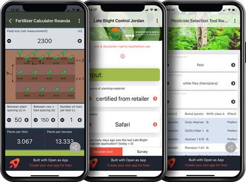 no-code apps Wageningen Plant Research